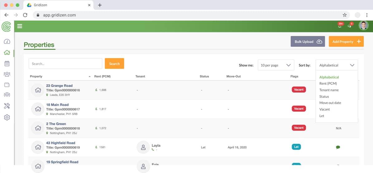 Gridizen App Dashboard